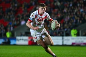 Jack Welsby scored two tries in the semi-final win over Leeds Rhinos. Picture: SWPix