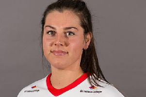 Katie-May Williams claimed a crucial try
