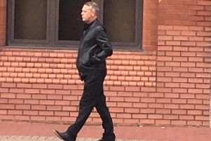 Trevor Smith outside court at a previous hearing