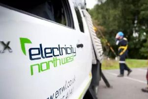 Electricity North West are carrying out repair works