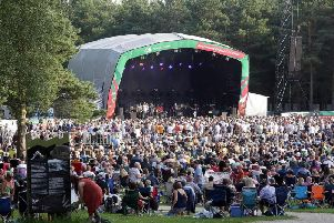 Fans at Paul Weller's Sherwood Pines gig in June 2019.