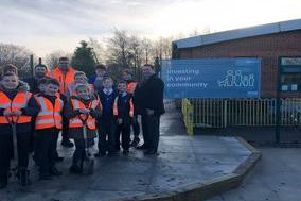 Carr Mill Primary School has  benefited from a community investment project