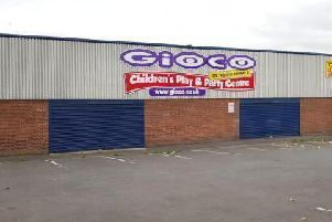 The former Gioco play centre in Fingerpost