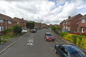 The incident happened on Ash Crescent, Ripley.