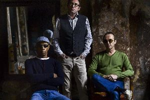 Oscar Harrison, Simon Fowler and Steve Craddock of Ocean Colour Scene