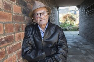 Harry Leslie Smith, who has died aged 95, contributed to the project. (Courtesy of Mirrorpix).