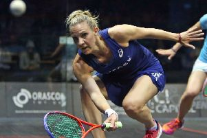 Laura Massaro in now No.7 in the world (photo: PSA)