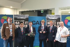 The Make It Work robotics challenge champions