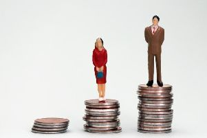 Many women are paid less than men for doing the same job.