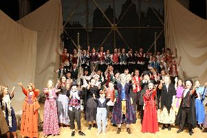 Rainford High's cast of Oliver!