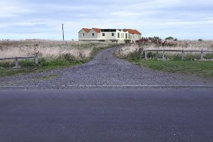 A photo-montage of the proposed development from Links Road.