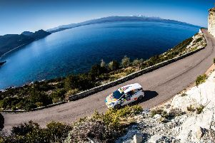 The unique Corsican roads were a challenge for Phil Hall. (PHOTO BY: Ricardo Oliveira).