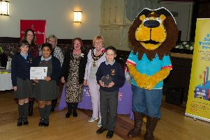 Thatto Heath Primary School, one of the winners on the night