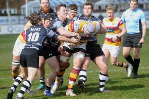Jacob Conner on the charge for Fylde  Picture: ROB LOCK
