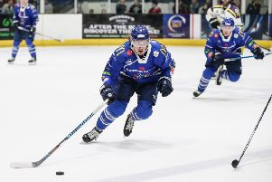 MEET THE NEW GUY: Former Coventry Blaze forward Marc-Olivier Vallerand has returned to the Elite League with Sheffield Streelers. Picture: Scott Wiggins/EIHL.
