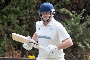 Rhys Mann scored 50 for Warmsworth but finished on the losing side.