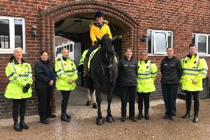 Merseyside Police Mounted Section is today holding a naming ceremony to commemorate the life of BBC presenter Dianne Oxberry