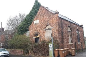 The former Providence District Baptist Chapel on Clipsley Lane in Haydock