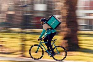 Deliveroo in St Helens