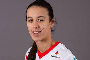 Zoe Harris - named in the Lancashire squad