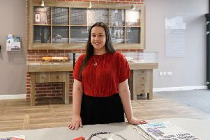 Former apprentice Bethany Edge at the Watch Factory in Prescot