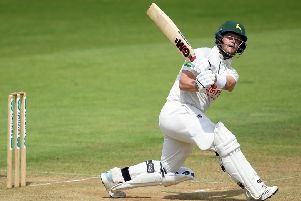 Nottinghamshire batsman Ben Duckett, who is in the England Lions squad for a game against Australia A. (PHOTO BY: Alex Davidson/Getty Images)