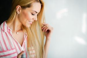 Experts advise using fragrance mists on your hair