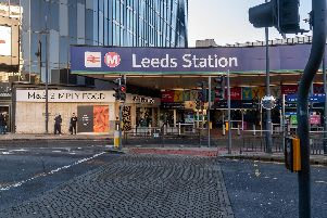 A 24-year-old man has been charged after threatening police officers in Leeds Train Station.