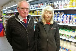 David and Margaret Brindle were worried about the future of their business when they learned of Aldi's plans