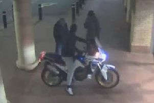 Detectives have released a CCTV  image of three men who may have information on recent burglaries in Rainhill and St Helens.