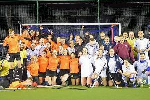 The future's bright, the future's orange at Leeds-Adel Hockey Club. PIC: Dave Taylor