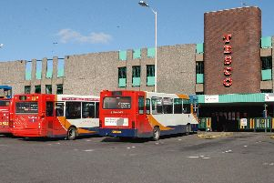 Mansfield Stockwell Gate Tesco and Bus Station
