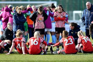 Sunderland Ladies have been demoted two divisions.