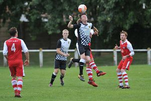 Silksworth, red, are looking to continue their good form, which included a cup win over Boldon last weekend.