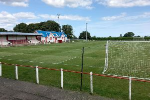 The club's ground at Seaham Town Park.