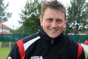 Seaham Red Star boss Mark Collingwood