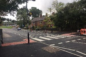 The new Guild Wheel crossing at Broughton.
