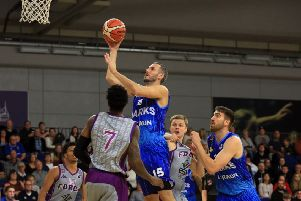 READY AND WILLING: Sheffield Sharks' Mike Tuck. Picture: Chris Etchells