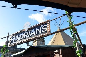 Hadrian's Tipi has pitched up in Sunderland city centre