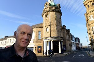 Actor and writer Terry Deary outside of the Sunderland Empire Theatre  Picture by FRANK REID