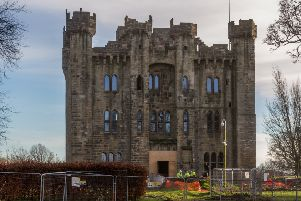 The final phase of work at Hylton Castle is taking place.