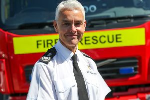 Durham's Chief Fire Officer Stuart Errington.