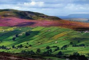The Yorkshire Dales National Park.