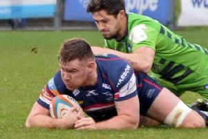Ollie Stedman is an injury doubt for this weekend.