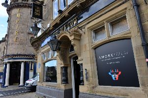 Amore Italia, above the historic Dun Cow in Sunderland city centre