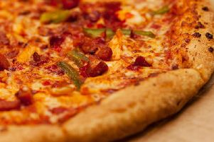 Two women tried to scam a free meal at a Sunderland pub by putting hair in their pizza.