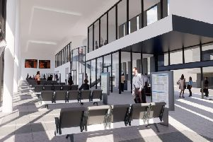 An artist's impression of the how the new bus station might look