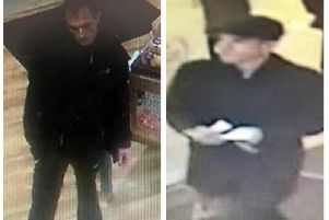 Police have released these images of two men they want to trace