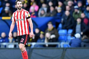 Sunderland striker Will Grigg.