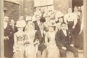 The Hastings family wedding from 1899.